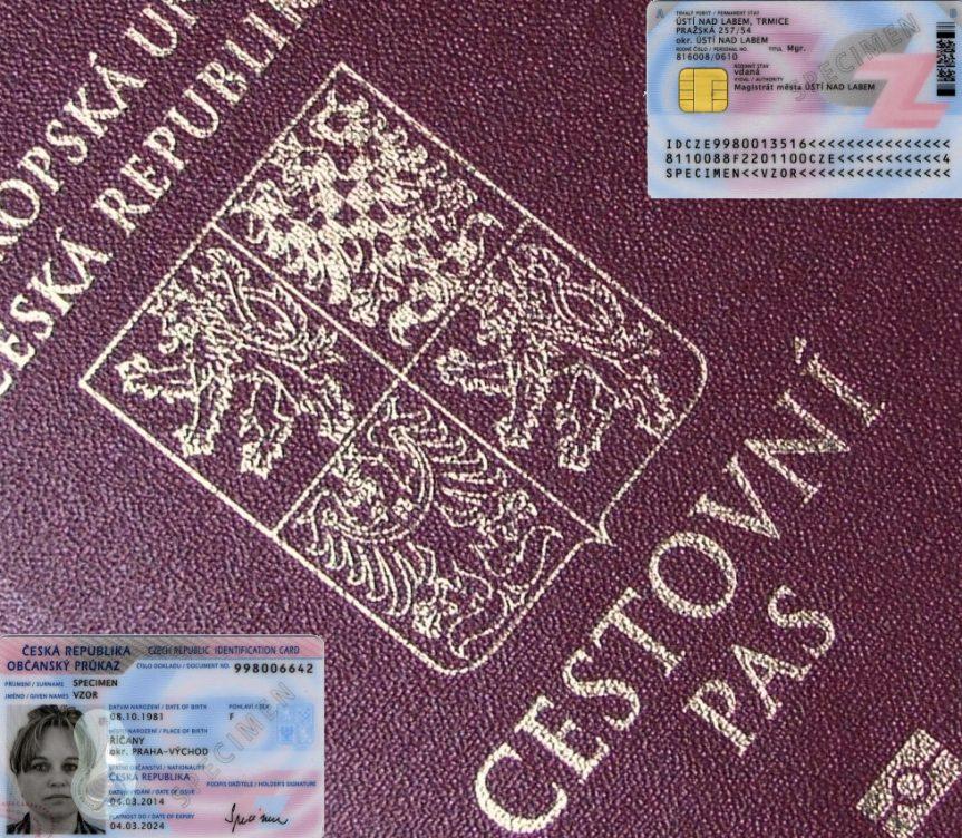 Změny ve vydání cestovních pasů a občanských průkazů od 1.7.2018